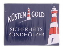 Küstengold Sicherheitszündhölzer  - 4250426213430