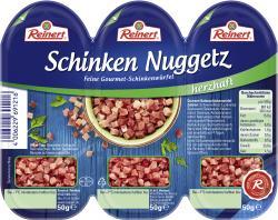 Reinert Schinken Nuggetz herzhaft  (3 x 50 g) - 4006229691216
