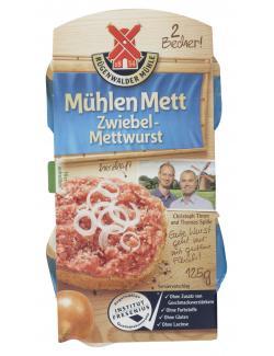 Rügenwalder Mühlen Mett Zwiebelmettwurst  (125 g) - 4000405003046