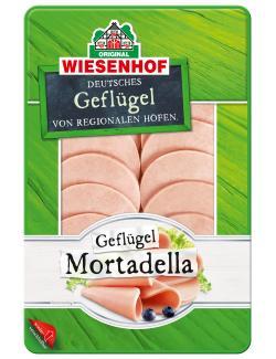 Wiesenhof Geflügel-Mortadella  (100 g) - 4019467463309