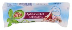 Du darfst Apfel-Zwiebel Leberwurst  (100 g) - 4034167101320