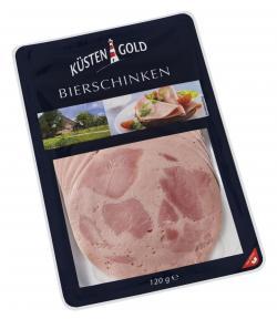 Küstengold Bierschinken  (120 g) - 4250426213836