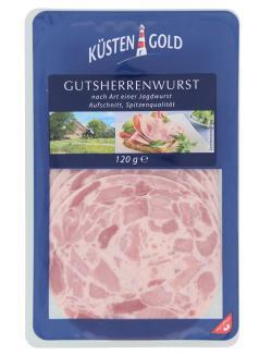 Küstengold Gutsherrenwurst  (120 g) - 4250426213799