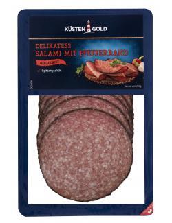 Küstengold Delikatess Pfeffer-Salami  (80 g) - 4250426212938