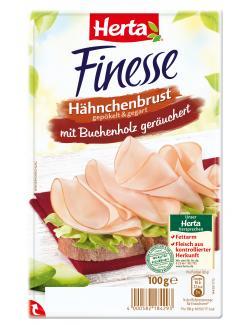 Herta Finesse Hähnchenbrust geräuchert  (100 g) - 4000582184293