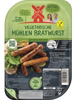 Rügenwalder Mühle Vegetarische Mühlen Bratwurst  (180 g) - 4000405005286