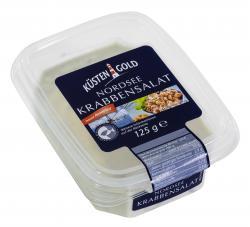 Küstengold Nordseekrabbensalat  (125 g) - 4250426215861