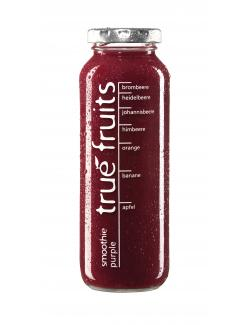True fruits Smoothie purple  (250 ml) - 4260122390045