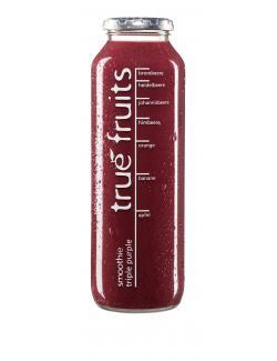 True fruits Smoothie triple purple  (750 ml) - 4260122390403