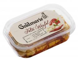 Goldmarie Fetawürfel Paprika Chilli  (150 g) - 4260404851288