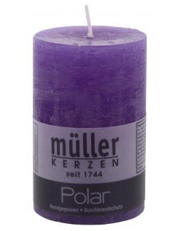 Müller-Kerzen Polar Stumpenkerze orchidee  (1 St.) - 4009078177672