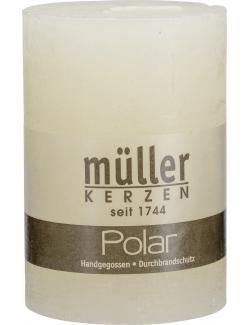 Müller-Kerzen Polar Stumpenkerze vanille  (1 St.) - 4009078631884
