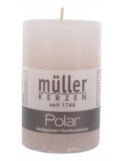 Müller-Kerzen Polar Stumpenkerze erde  (1 St.) - 4009078313070