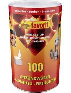 Favorit Anzündwürfel  - 4006822312150