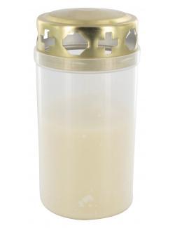 Müller-Kerzen Tagebrenner mit Deckel  (1 St.) - 4009078390330