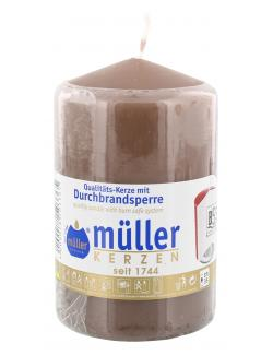 Müller-Kerzen Stumpenkerze kaschmir  (1 St.) - 4009078503365