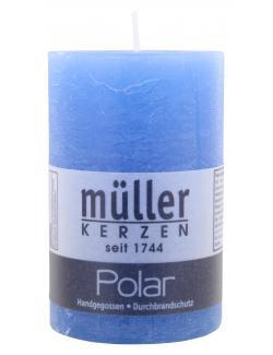 Müller-Kerzen Polar Stumpenkerze delft  (1 St.) - 4009078501903