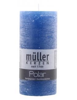 Müller-Kerzen Polar Stumpenkerze delft  (1 St.) - 4009078501682