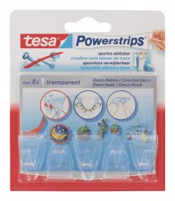 Tesa Powerstrips Deco-Haken transparent  (1 St.) - 4005800223273