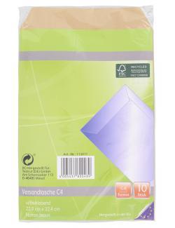 Paperfoxx Versandtaschen C4 ohne Fenster  (10 St.) - 4005437800489
