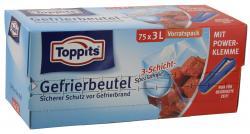 Toppits Gefrierbeutel 3 Liter  (75 St.) - 4006508115402