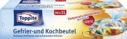 Toppits Gefrier- und Kochbeutel 1 Liter  - 4006508100811
