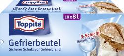 Toppits Gefrierbeutel 8 Liter  (10 St.) - 4006508140428