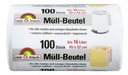 Rein & frisch Müll-Beutel 16 Liter  (100 St.) - 4007519053936