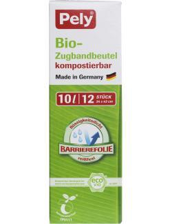 Pely Biofolien Müllbeutel mit Zugband 10 Liter  (12 St.) - 4007519059334