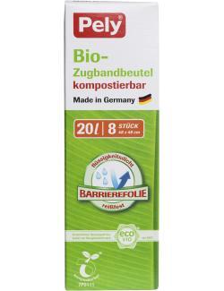 Pely Clean Biofolien Müllbeutel mit Zugband 20 Liter  (8 St.) - 4007519059426