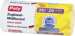 Pely Clean Multi-Zugbandbeutel 35 Liter  (20 St.) - 4007519085340