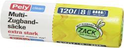 Pely Clean Multi-Zugbandsäcke 120 Liter  (8 St.) - 4007519085388
