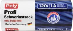 Pely Clean Profi-Schwerlastsäcke mit Zugband 120 Liter  (14 St.) - 4007519085586