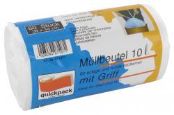 Quickpack Müllbeutel 10 Liter  (60 St.) - 4008284071071