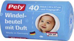 Pely Windelbeutel mit Duft und Tragegriff  (40 St.) - 4007519054476