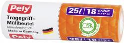 Pely Tragegriff-Müllbeutel 25 Liter  (1 St.) - 4007519056456