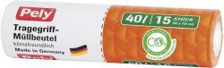 Pely Tragegriff-Müllbeutel 40 Liter  (1 St.) - 4007519056470