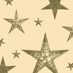 Duni My Star Cream Tissue-Servietten 24x24cm  (1 St.) - 7321011693191