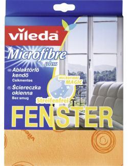 Vileda Microfaser Glas & Fenster Tuch  - 4023103113916