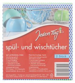 Jeden Tag Spül- und Wischtücher  (1 St.) - 4306180096441
