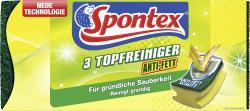 Spontex Topfreiniger Anti-Fett  (3 St.) - 4008600119524