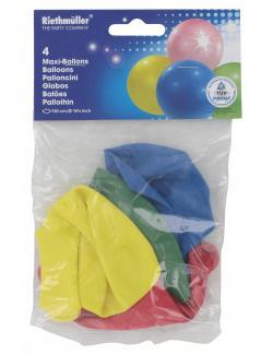 Riethmüller Maxi-Luftballons  (4 St.) - 4009775641117