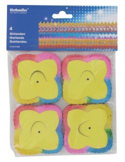 Riethmüller Girlanden mit gefärbten Rändern  (4 St.) - 4009775176411