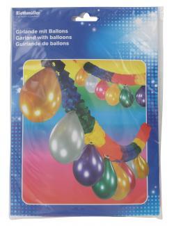 Riethmüller Girlande mit Ballons  - 4009775006442
