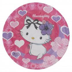 Riethmüller Pappteller 23cm Charmmykitty Hearts  (1 St.) - 4009775413240
