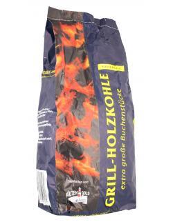 Küstengold Grill-Holzkohle extra große Buchenstücke  (3 kg) - 4004216001260