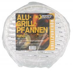 Best Sporting Alu-Grillpfannen rund  (1 St.) - 4009197675127