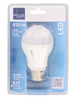 Müller Licht Leuchtmittel LED 10W E27 warmweiß  (1 St.) - 4018412025586