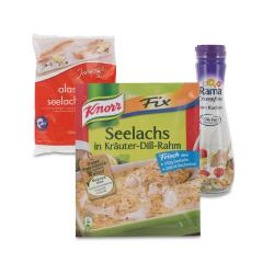 Set: Knorr Fix Seelachs in Kräuter-Dill-Rahm  - 2145300001723