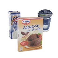 Set: Dr. Oetker Mousse Au Chocolat Feinherb  - 2145300001909